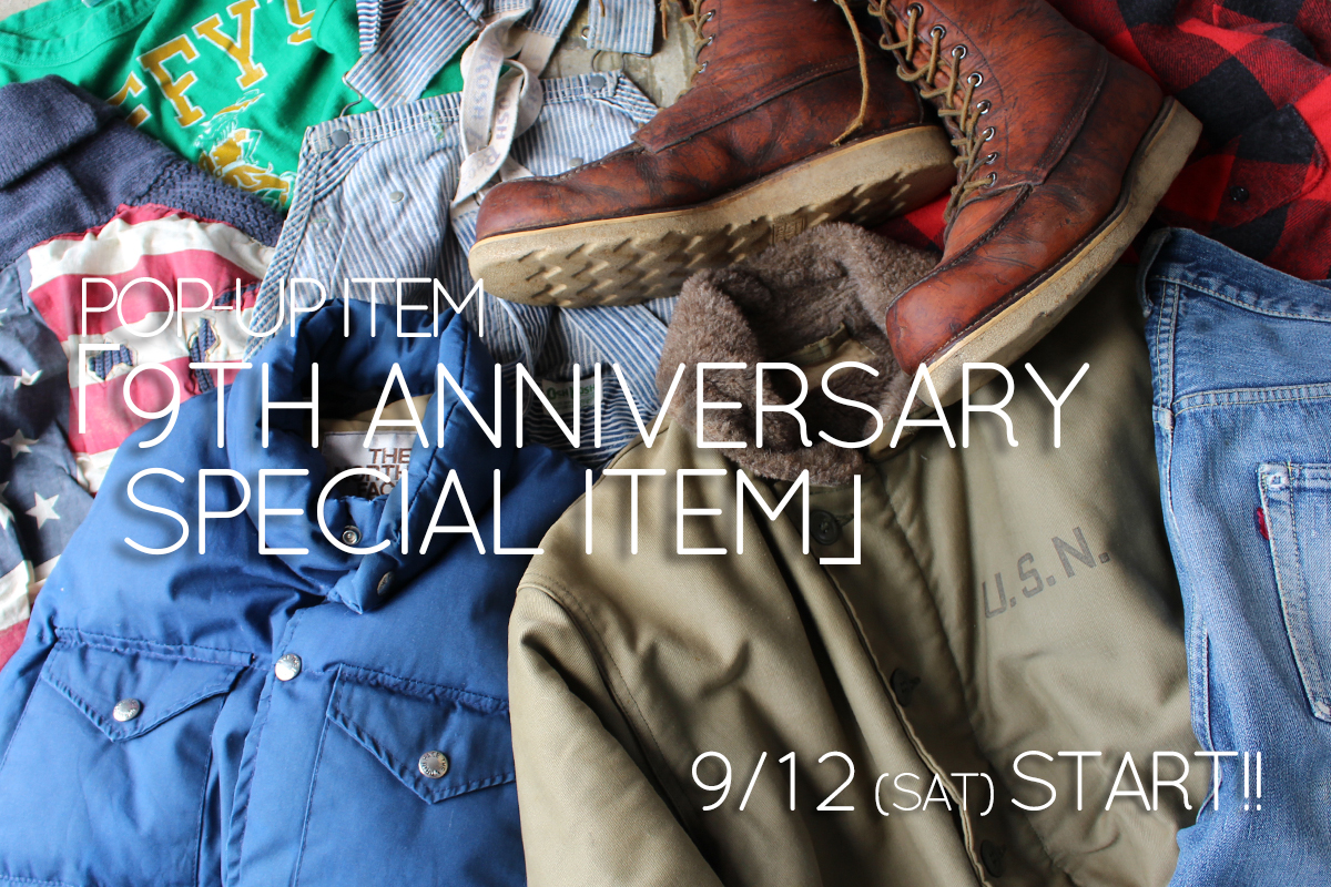 9TH ANNIVERSARY SPECIAL ITEM